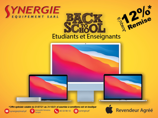Lancement du Back to school de Synergie