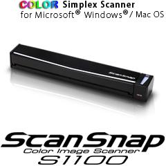 Scanner Fujitsu S1100