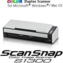 Scanner ScanSnap S1300i