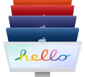 "iMac 24"" Retina 4,5K 2021 - Prochainement"