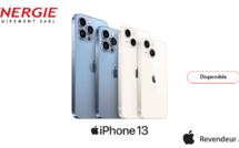 iPhone 13 maintenant disponible